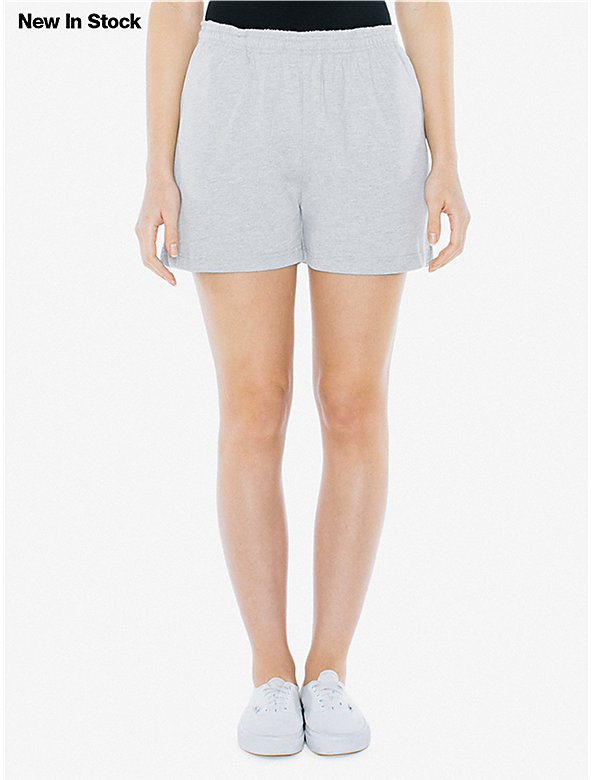 Unisex Thick Knit Jersey P.E. Short