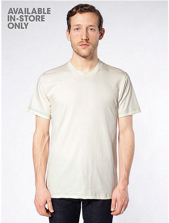 Men 39 s sale american apparel for American apparel fine jersey crewneck t shirt