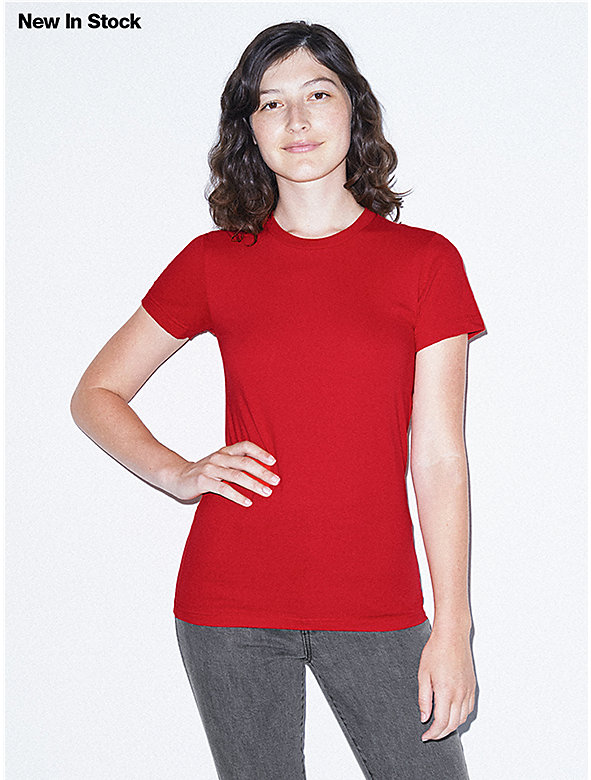 Fine Jersey Fitted T-Shirt