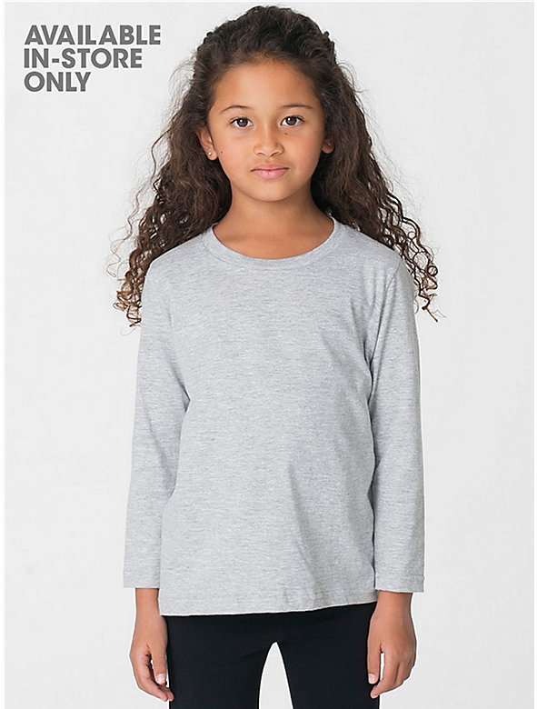 Kids' Fine Jersey Long Sleeve T