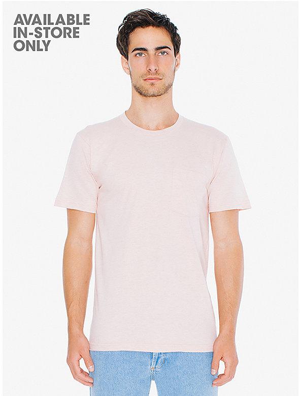 Fine Jersey Crewneck Pocket T-Shirt