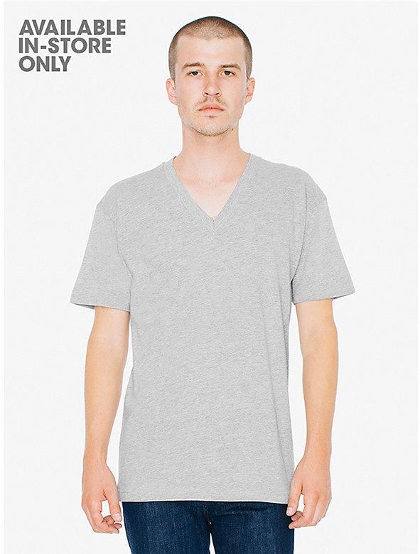 Fine Jersey V-Neck T-Shirt