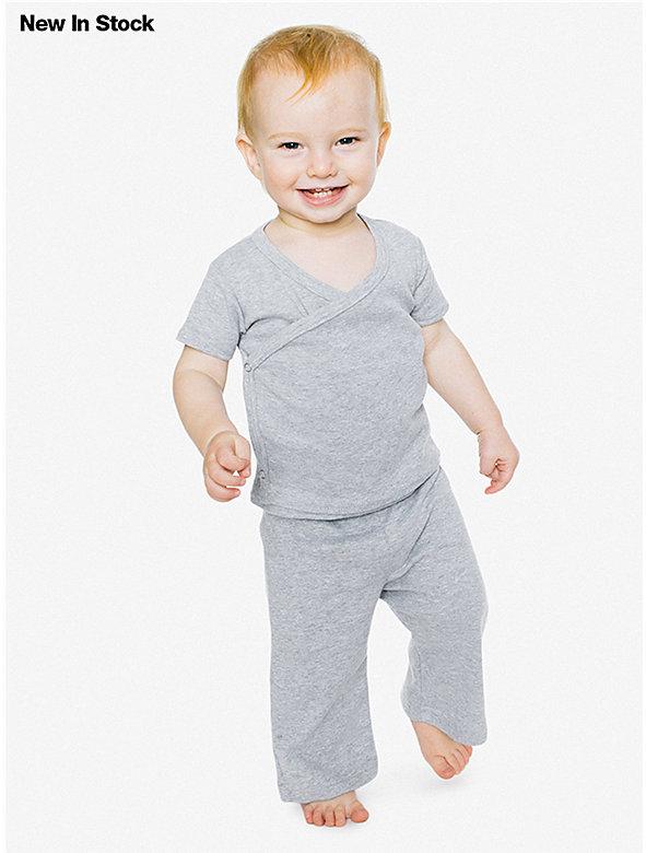 Baby Rib Infant Wrap Top