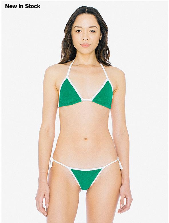 Loop Terry Side-Tie Bikini