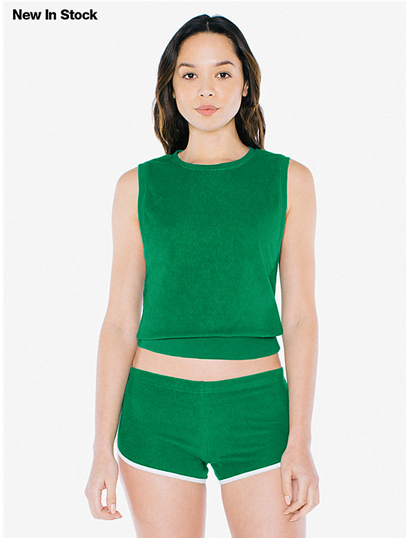 Loop Terry Sleeveless Crewneck