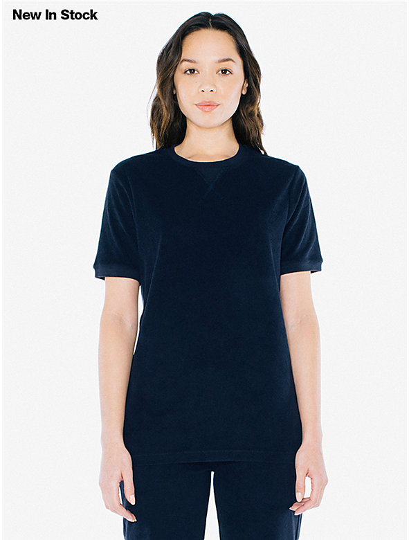 Unisex Loop Terry Sports T-Shirt