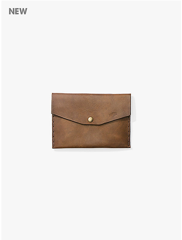Anvil Handcrafted Leather Envelope Clutch