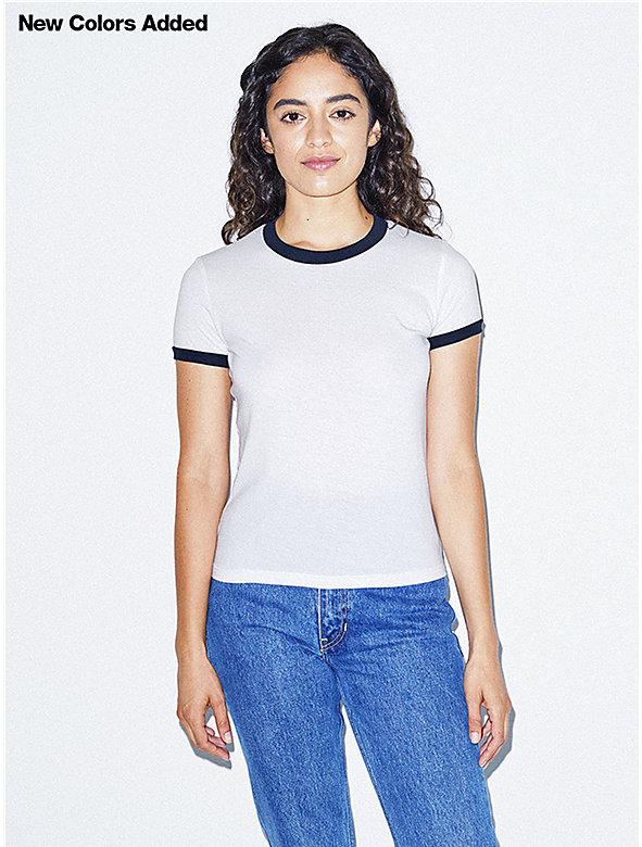 50/50 Classic Ringer T-Shirt
