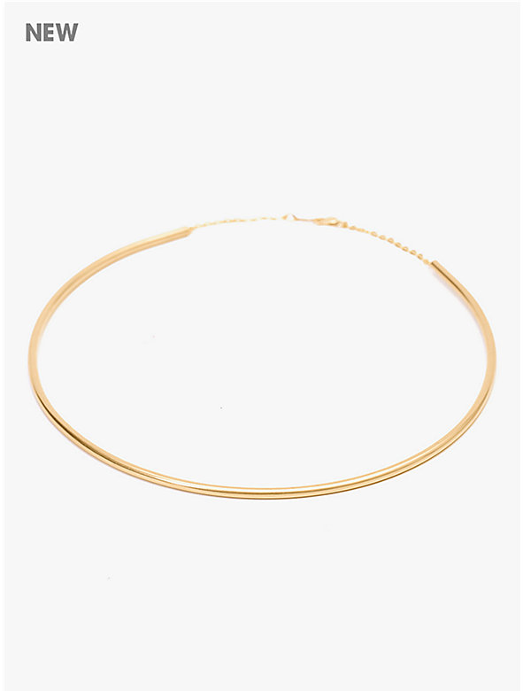 Beam Simple Cuff Necklace