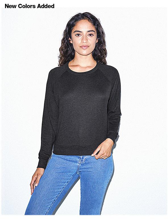 Tri-Blend Lightweight Pullover