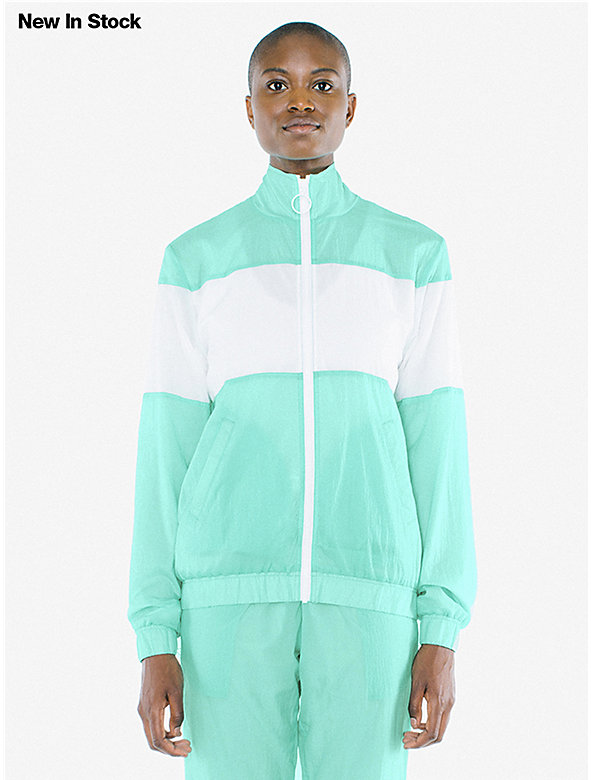 Unisex Crinkle Nylon Team Jacket
