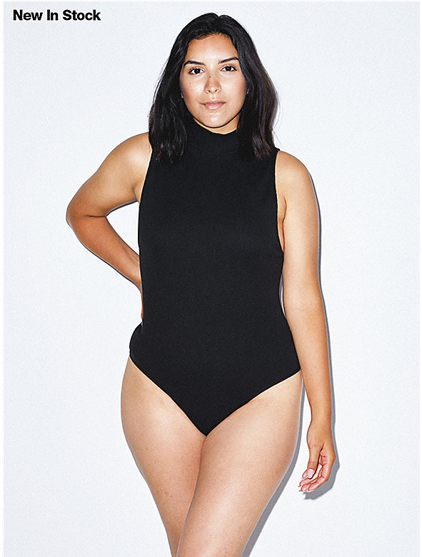 Cotton 2x2 Turtleneck Bodysuit
