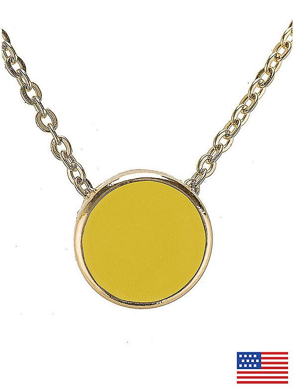 Sunshine Circle Necklace
