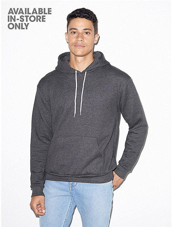 Unisex Flex Fleece Drop Shoulder Pull Over Hoodie