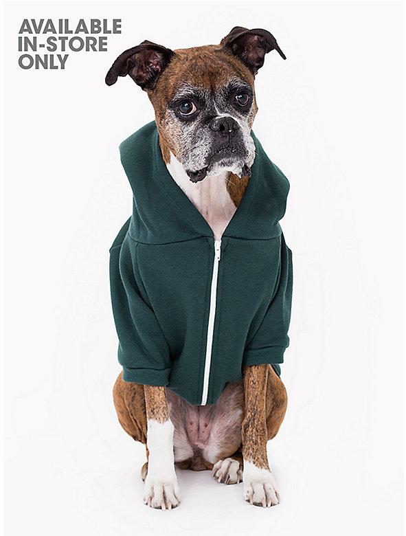 Forest Flex Fleece Dog Zip Hoodie (XL-2XL)