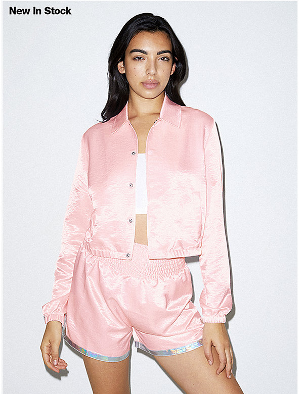 Fly Cropped Coach Jacket