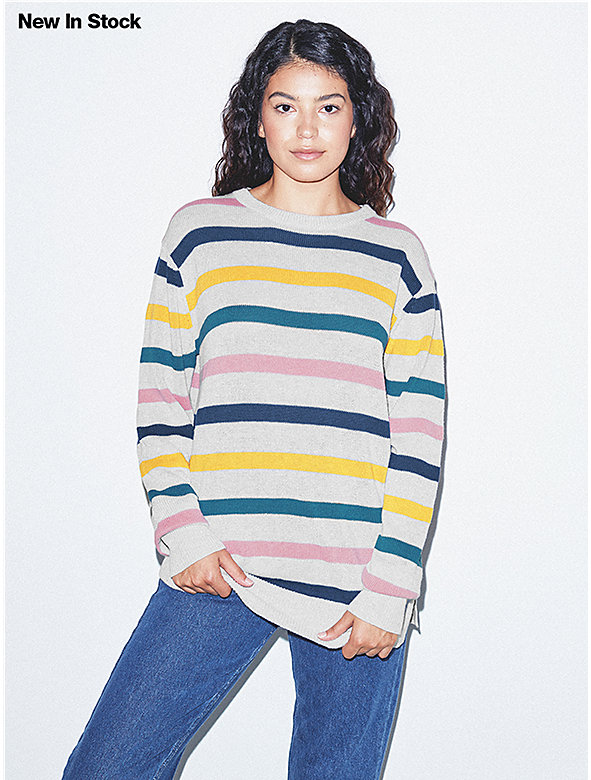 Unisex Basic Knit Crewneck