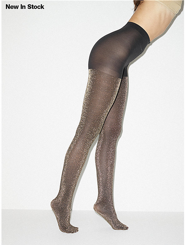 Metallic Pantyhose