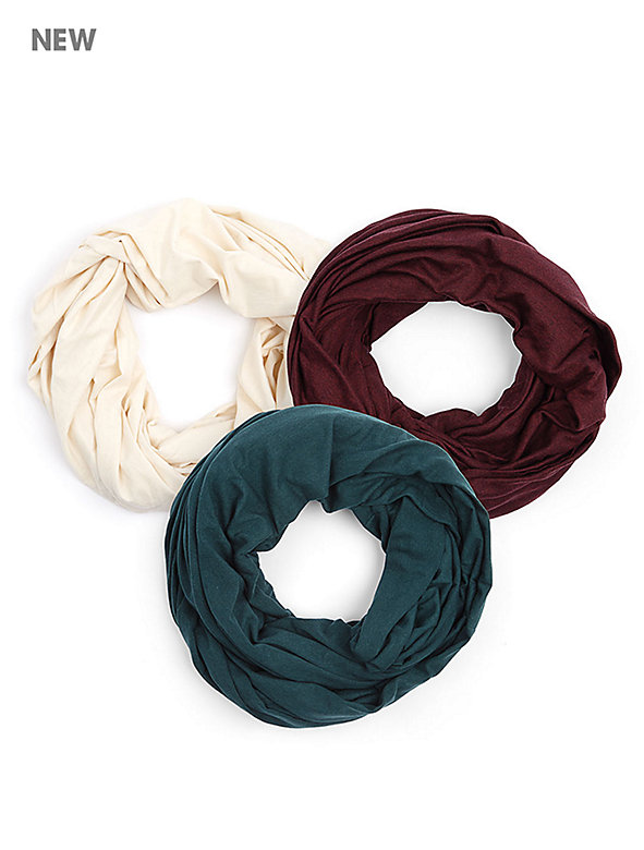 The Unisex Circle Scarf (3-Pack)