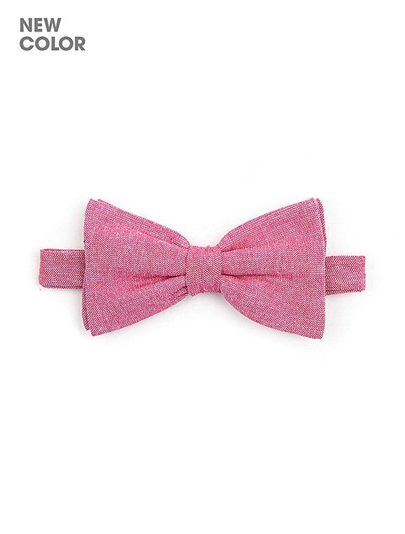 Unisex Chambray Bow Tie