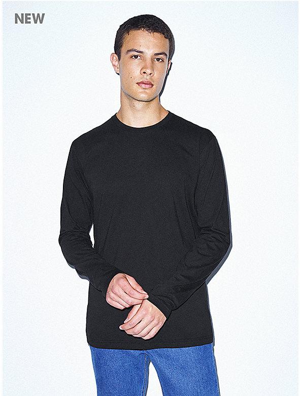 Unisex Power Wash Crewneck Long Sleeve T-Shirt