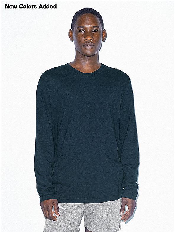 Power Wash Crewneck Long Sleeve T-Shirt