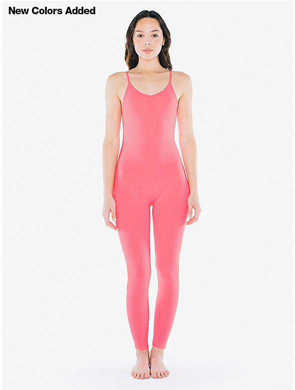 Cotton Spandex Unitard