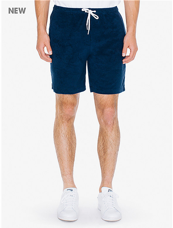 Loop Terry Drawstring Short