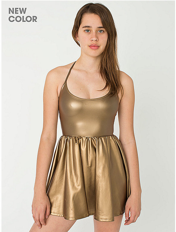 Shiny Figure Skater Dress