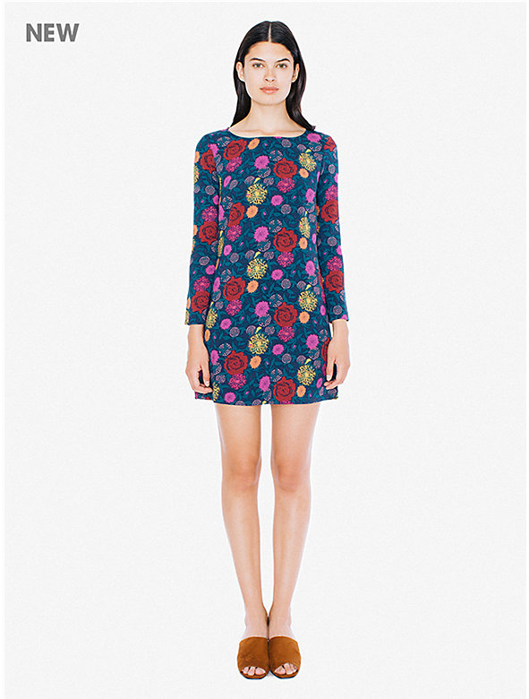Printed Gia Mini Dress