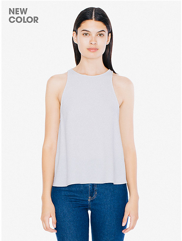 Crepe Open Back Top