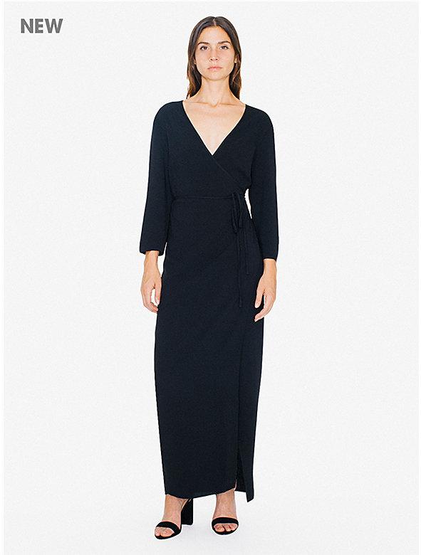 Julliard Wrap Dress