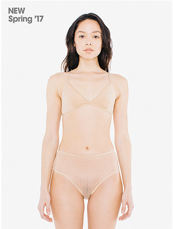 3D Dot High-Waist Brief