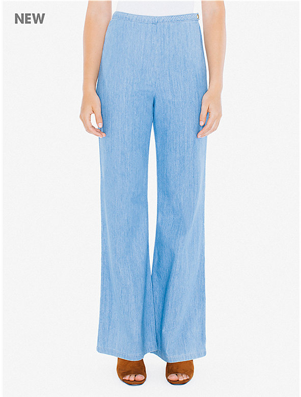Denim Charlie Pant