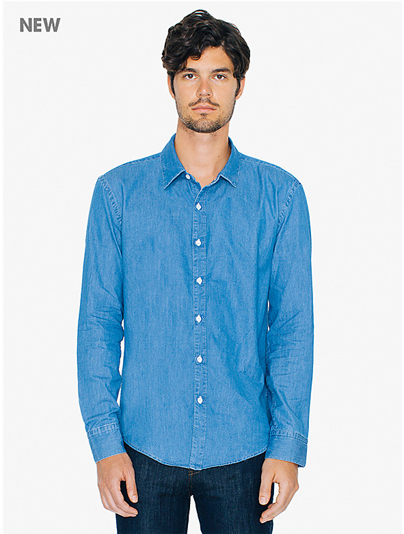 Lightweight Denim Slim Fit Shirt