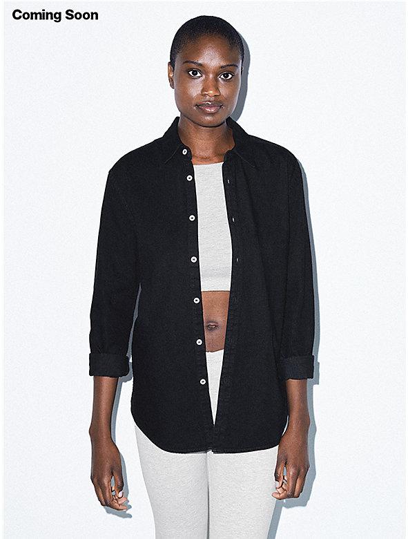 Unisex Denim Long Sleeve Shirt