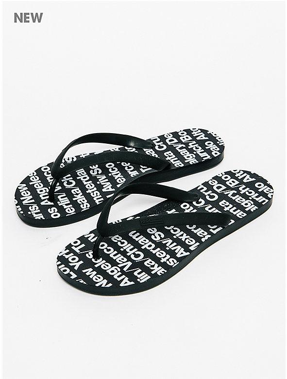 Men's Printed Flip Flop