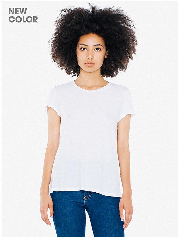 50/1 Cotton Women's Crewneck T-Shirt