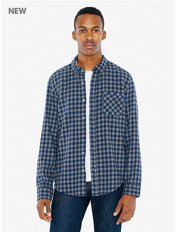 Brushed Flannel Slim Fit Shirt