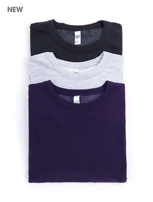 French Terry Drop-Shoulder Sweatshirt