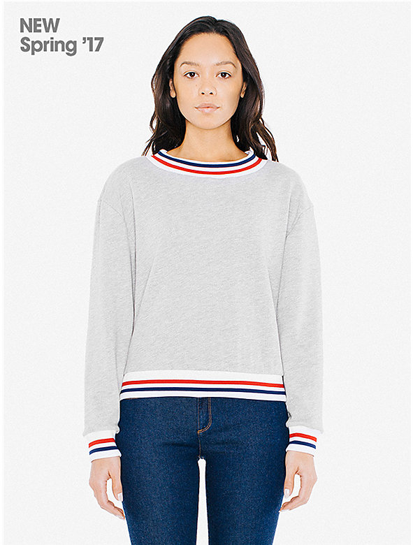 Lightweight French Terry Sport Sweatshirt