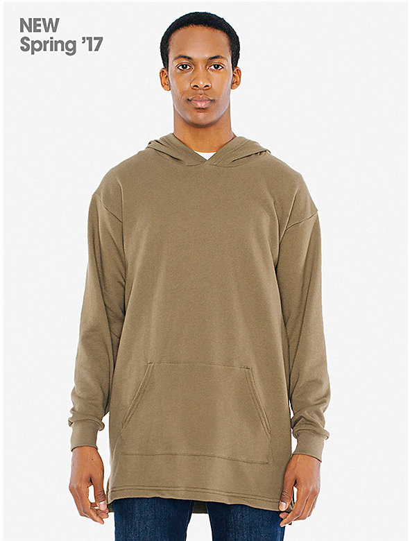 Lightweight French Terry Classic Oversized Pullover Hoodie