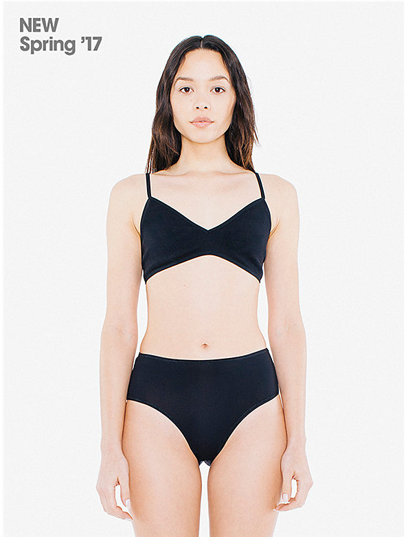 Super Fine Tricot High-Waist Brief