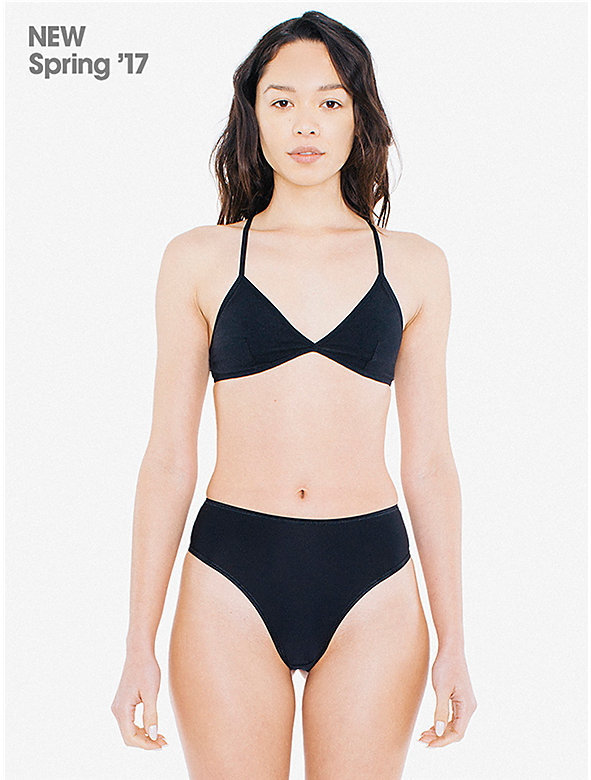 Super Fine Tricot High-Waist Thong