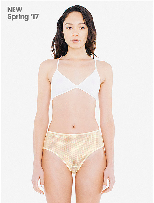 Geo Lace High-Waist Brief