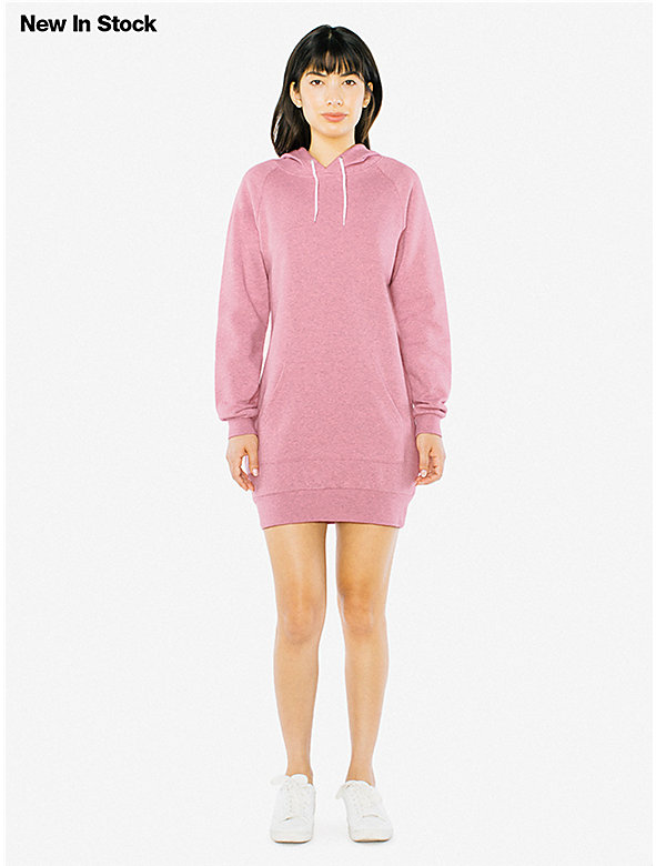 Mock Twist Hoodie Dress