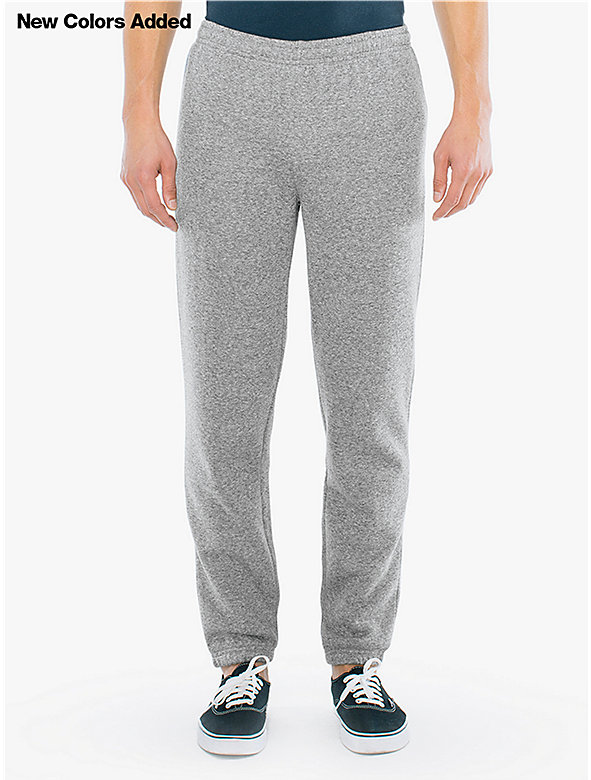 Peppered Fleece Boyfriend Sweatpant