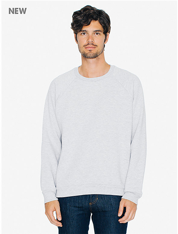 Salt and Pepper Raglan Crewneck Sweatshirt