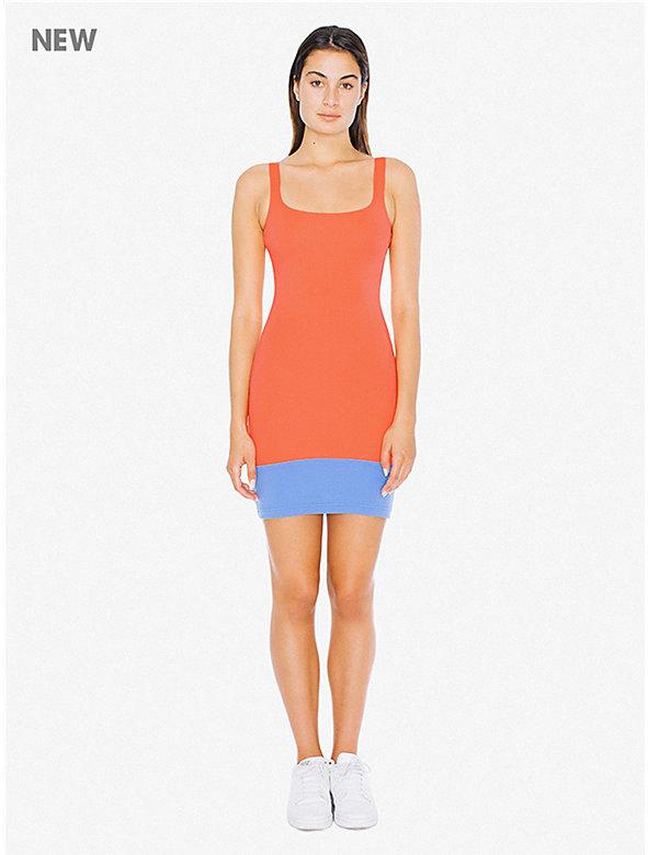 Color Block Ponte Tank Dress