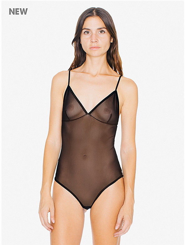 Sheer Mesh Sofia Bodysuit